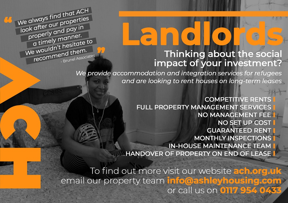 ACH landlord flyer