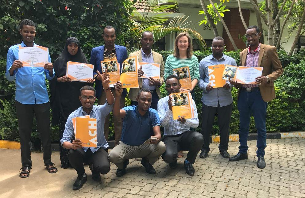 The BDSESES project began with a Train the Trainer session in Nairobi, Kenya.